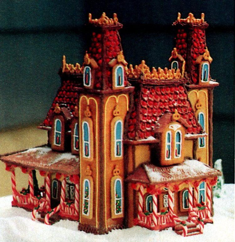 Vintage gingerbread houses (12)