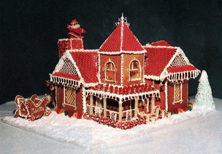 Vintage gingerbread houses (13)