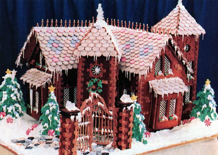 Vintage gingerbread houses (14)