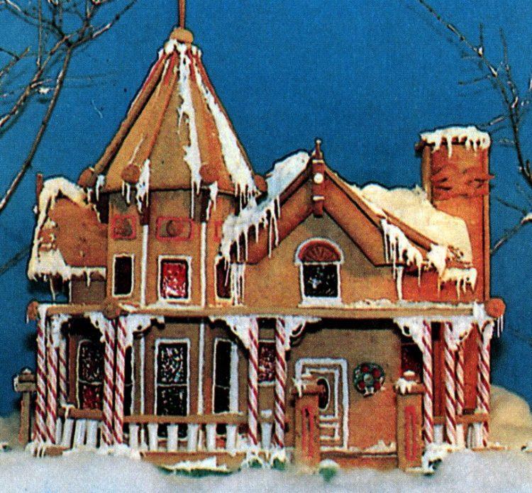 Vintage gingerbread houses (16)
