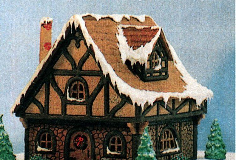 Vintage gingerbread houses (17)