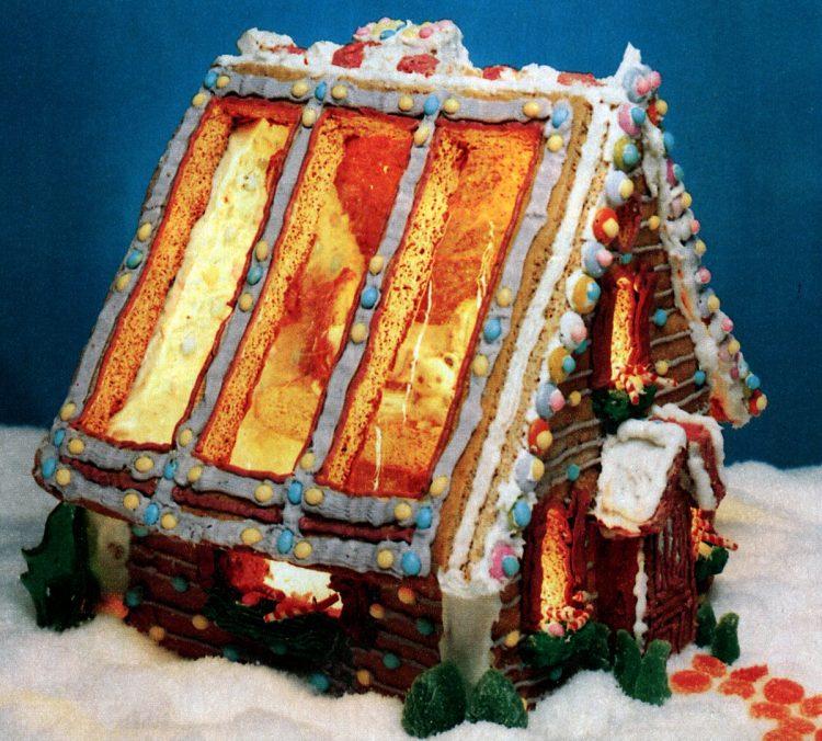 Vintage gingerbread houses (18)