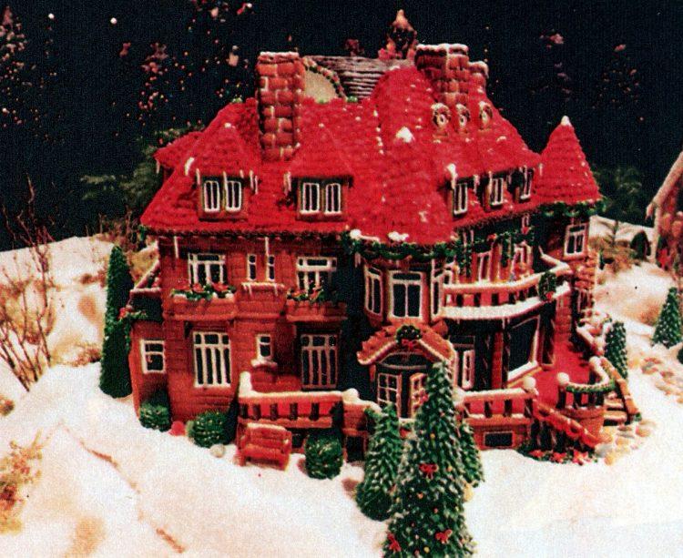 Vintage gingerbread houses (19)