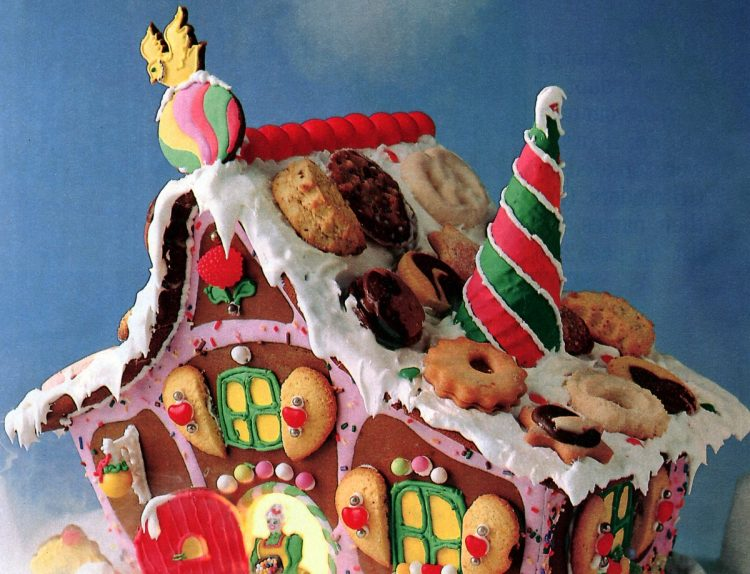 Vintage gingerbread houses (2)