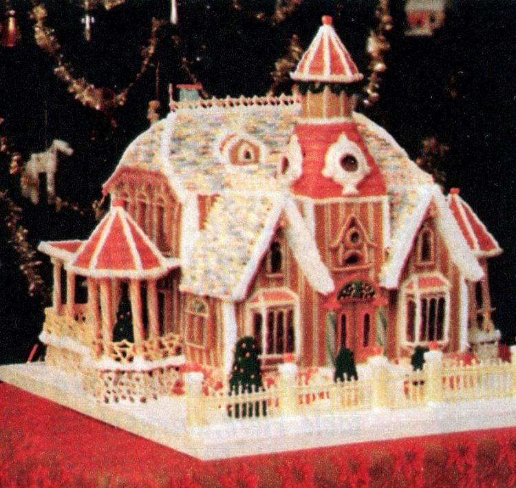 Vintage gingerbread houses (20)