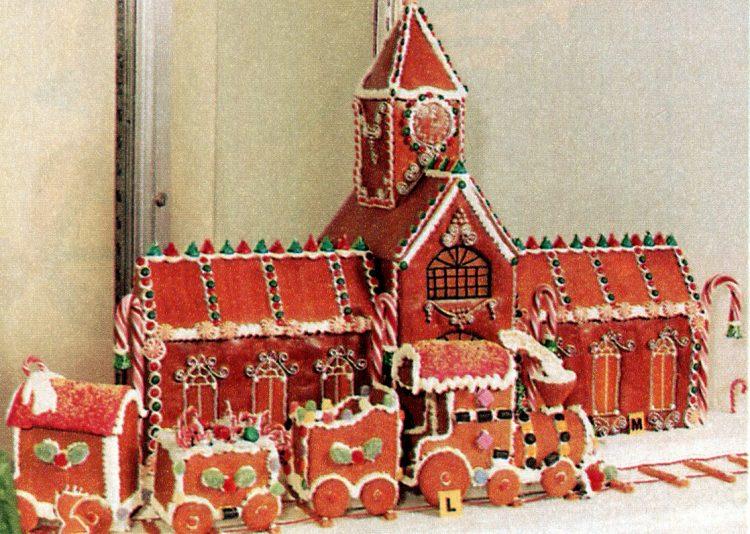 Vintage gingerbread houses (21)