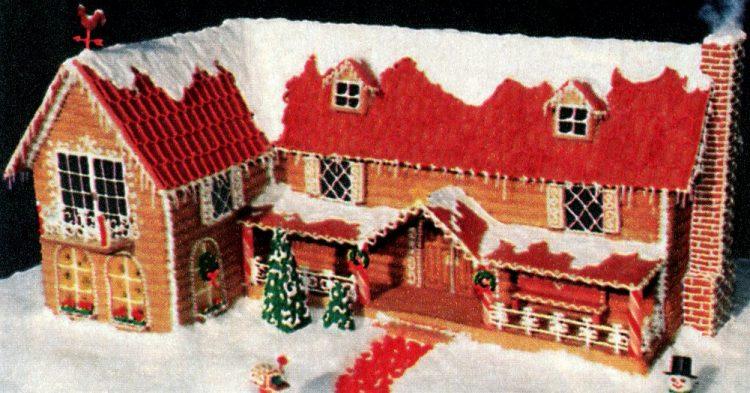 Vintage gingerbread houses (22)