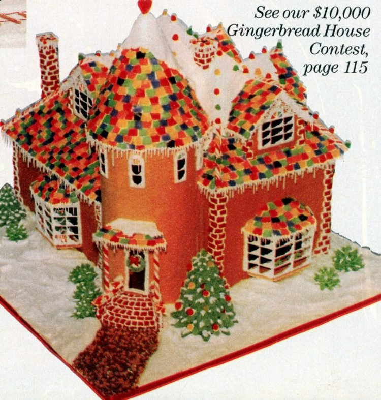 Vintage gingerbread houses (24)
