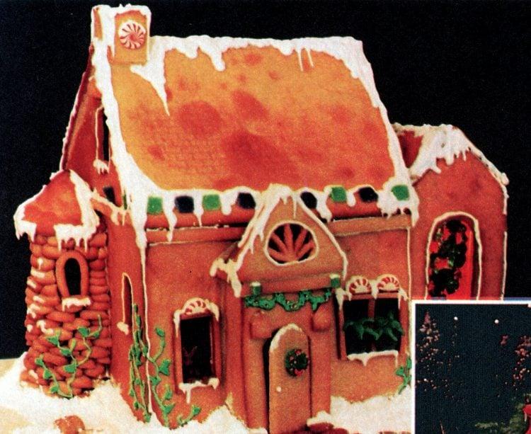 Vintage gingerbread houses (25)