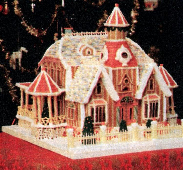 Vintage gingerbread houses (26)