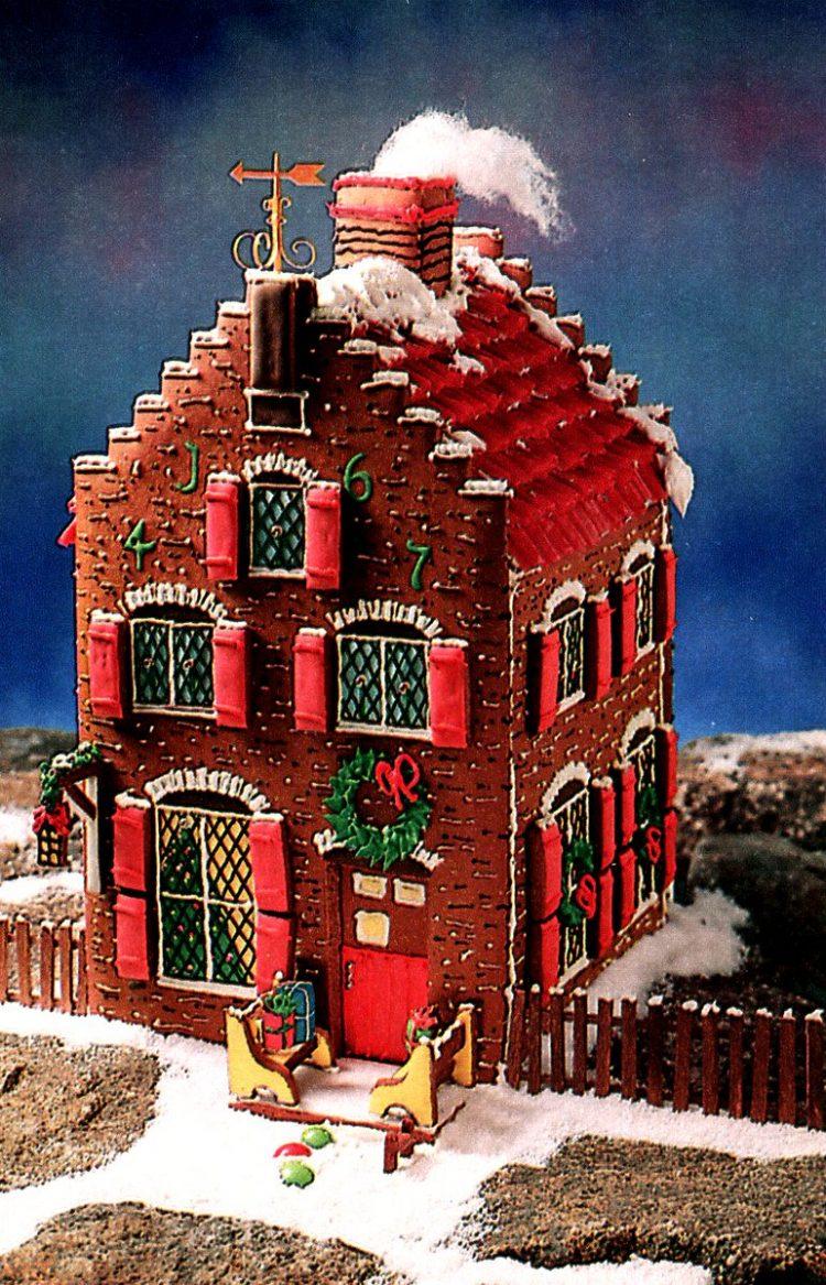 Vintage gingerbread houses (27)
