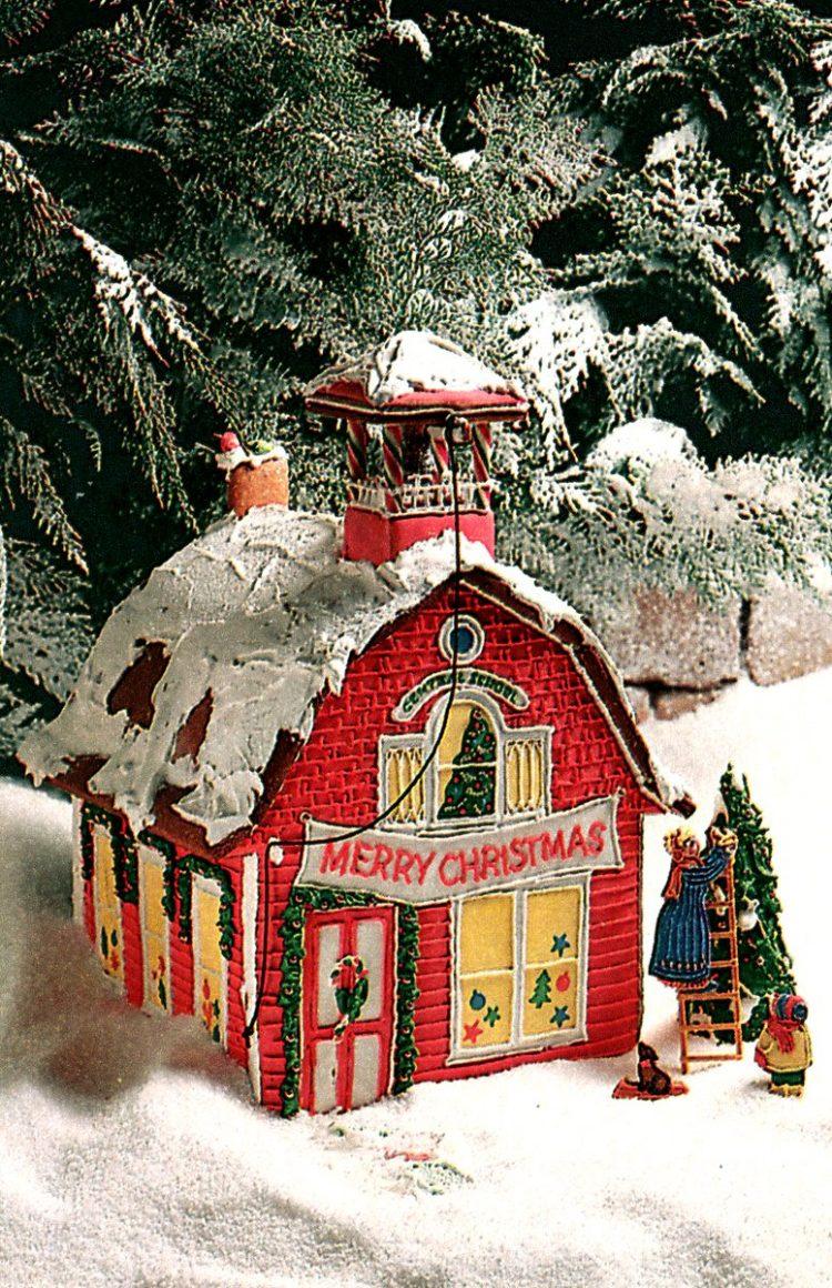 Vintage gingerbread houses (28)