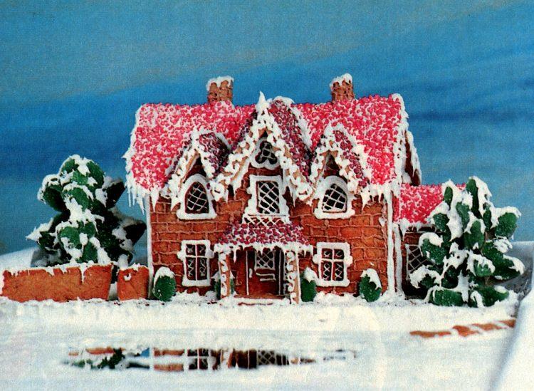Vintage gingerbread houses (3)