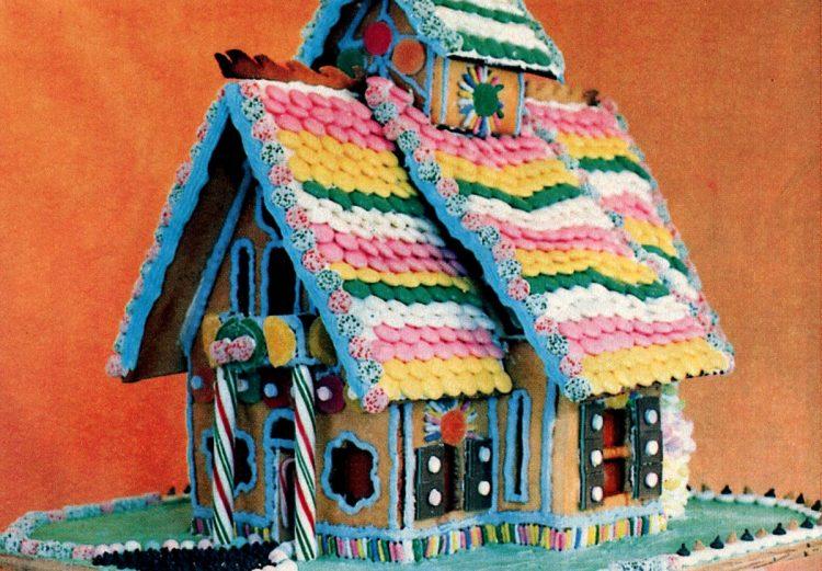 Vintage gingerbread houses (4)