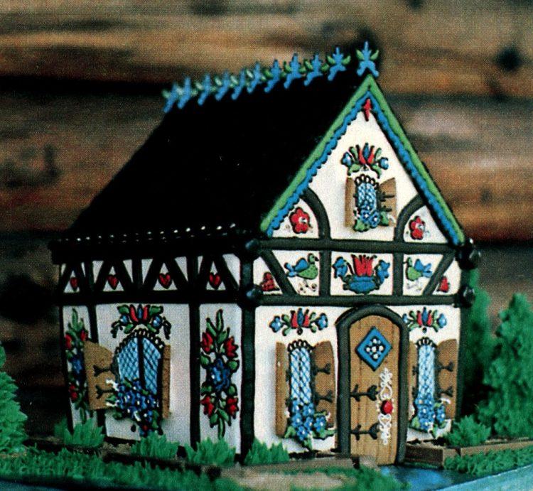 Vintage gingerbread houses (5)
