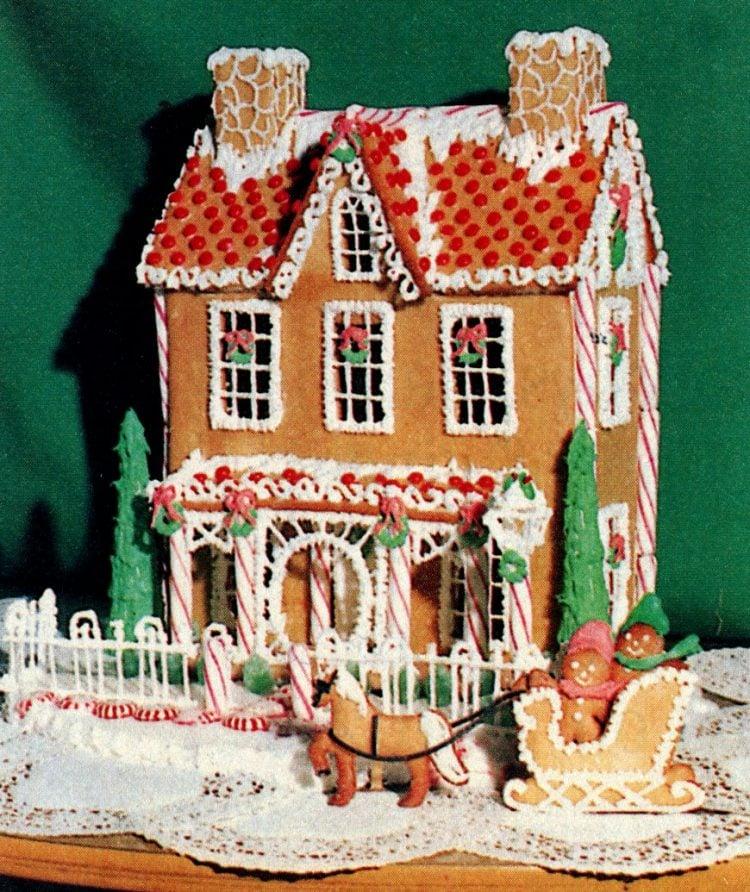 Vintage gingerbread houses (6)