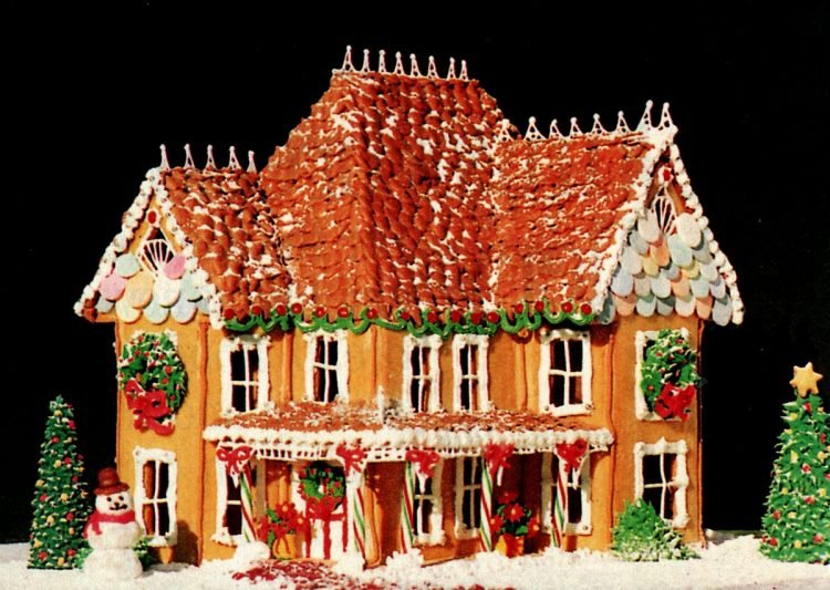 Vintage gingerbread houses (7)