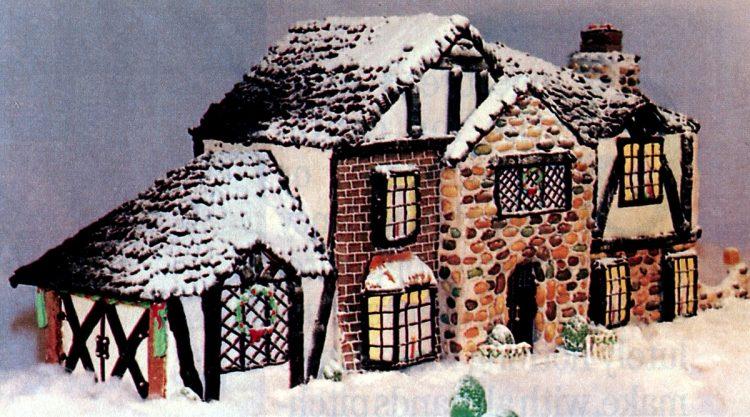 Vintage gingerbread houses (8)