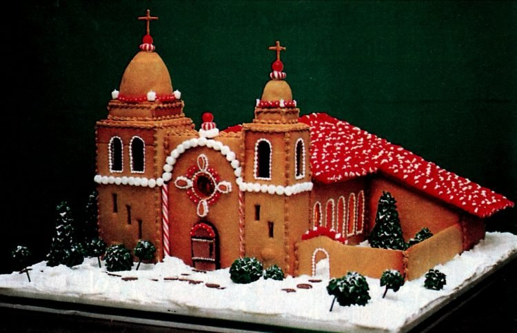 Vintage gingerbread houses (9)