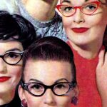 Vintage glasses styles from the fifties-Retro eyewear