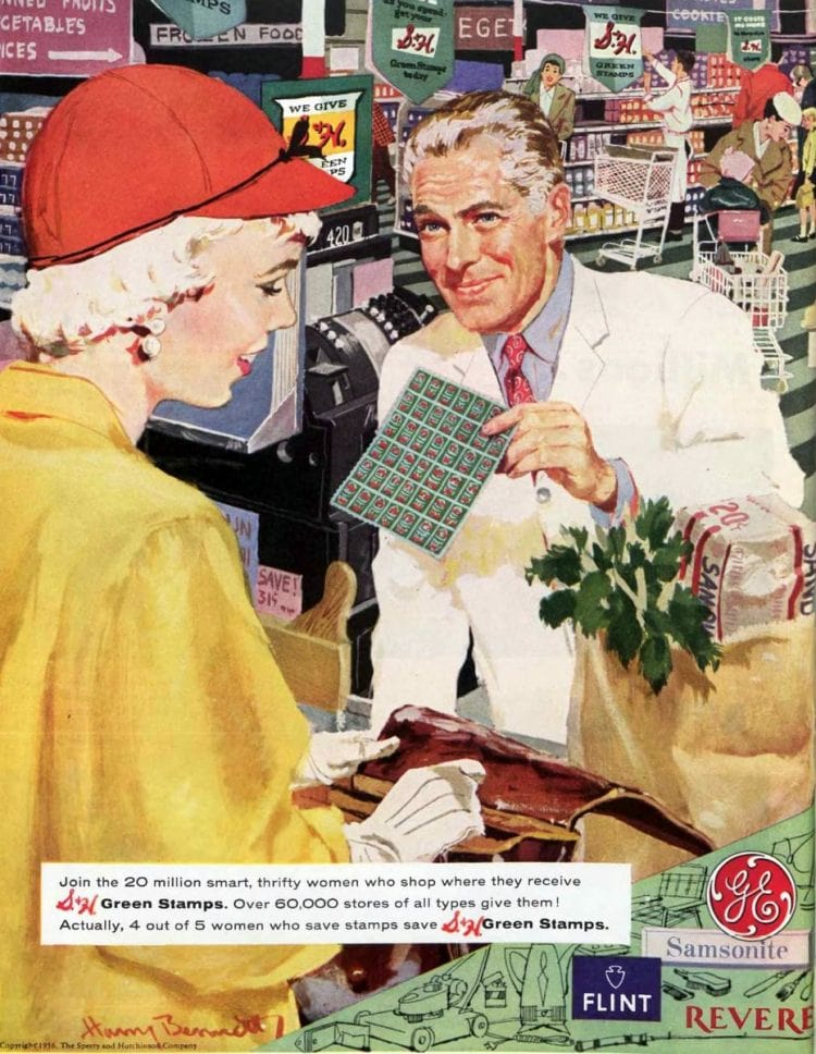 Vintage grocery stores and supermarkets - 1956 (1)