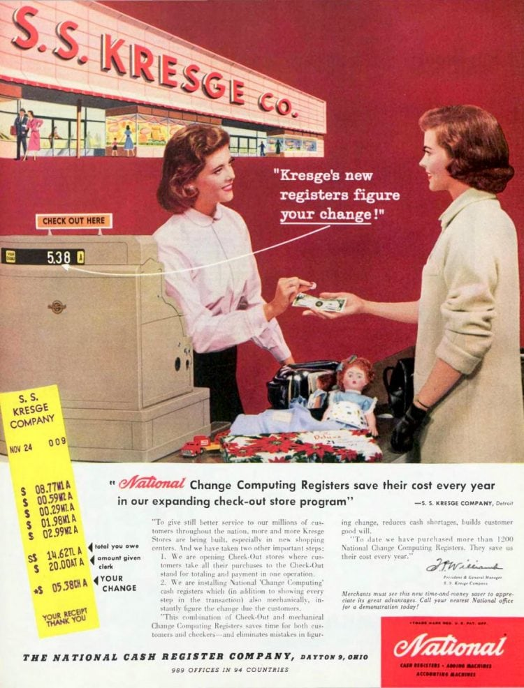 Vintage grocery stores and supermarkets - 1956 (4)