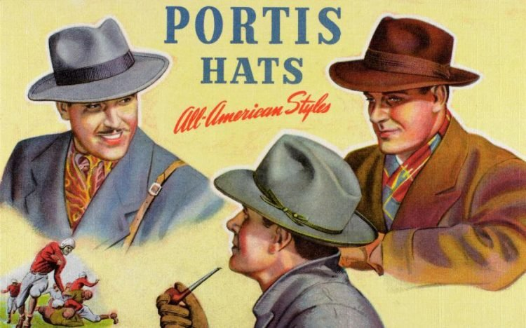 Vintage hats from the 1940s
