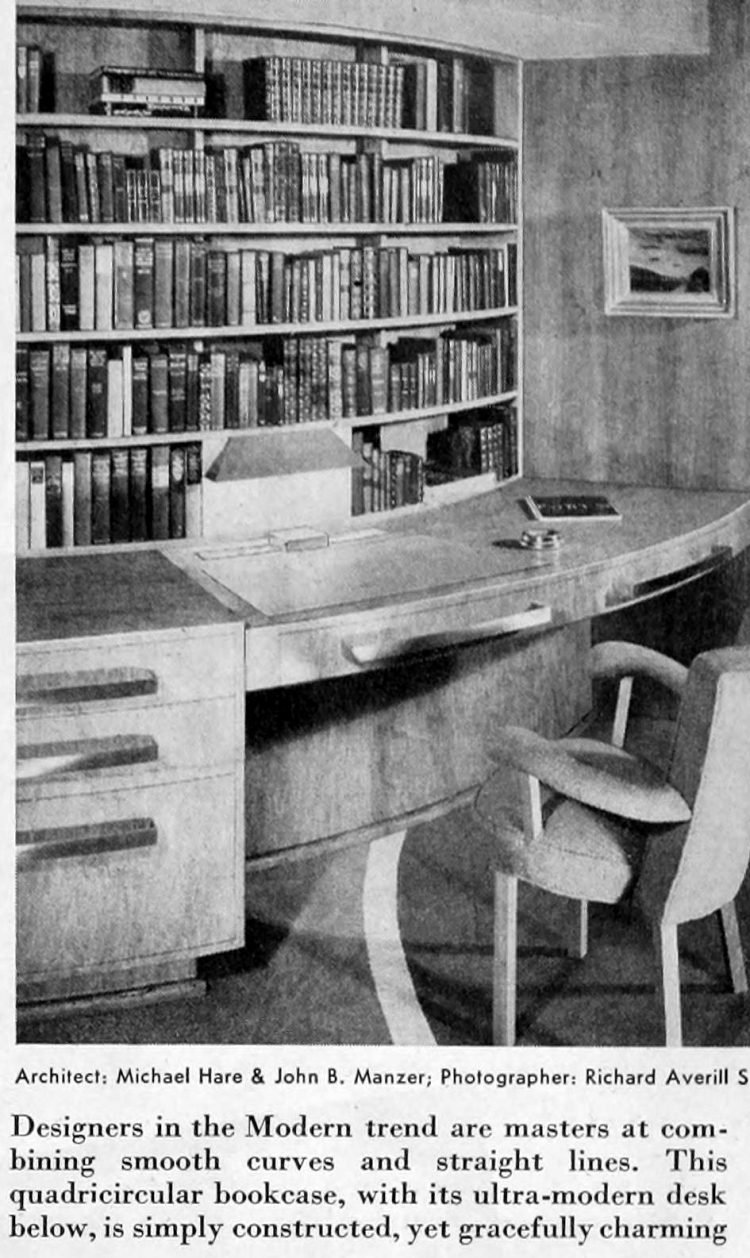 Vintage home decor - Books and bookcases 1941 (3)