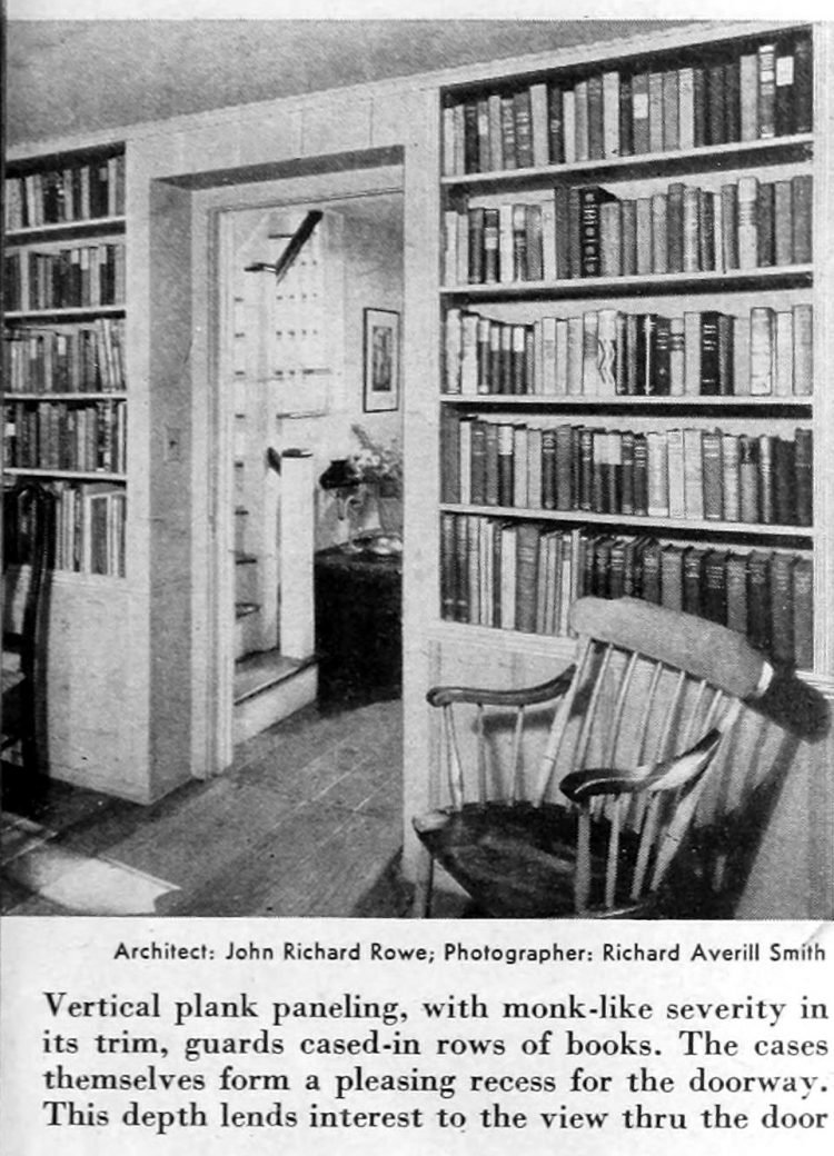 Vintage home decor - Books and bookcases 1941 (4)
