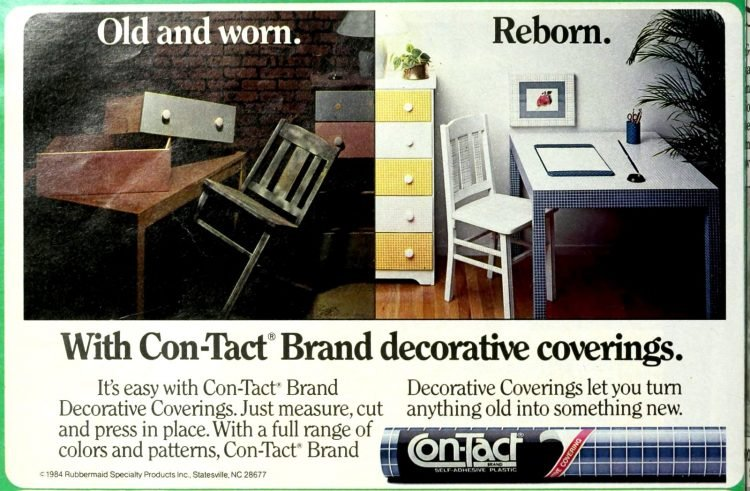 Vintage home decor and furniture renovations from the 70s