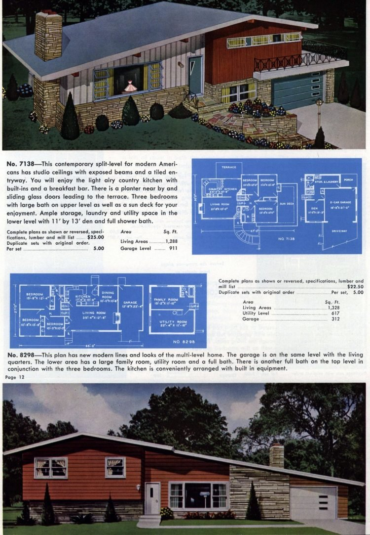 Vintage home plans from 1960 (3)