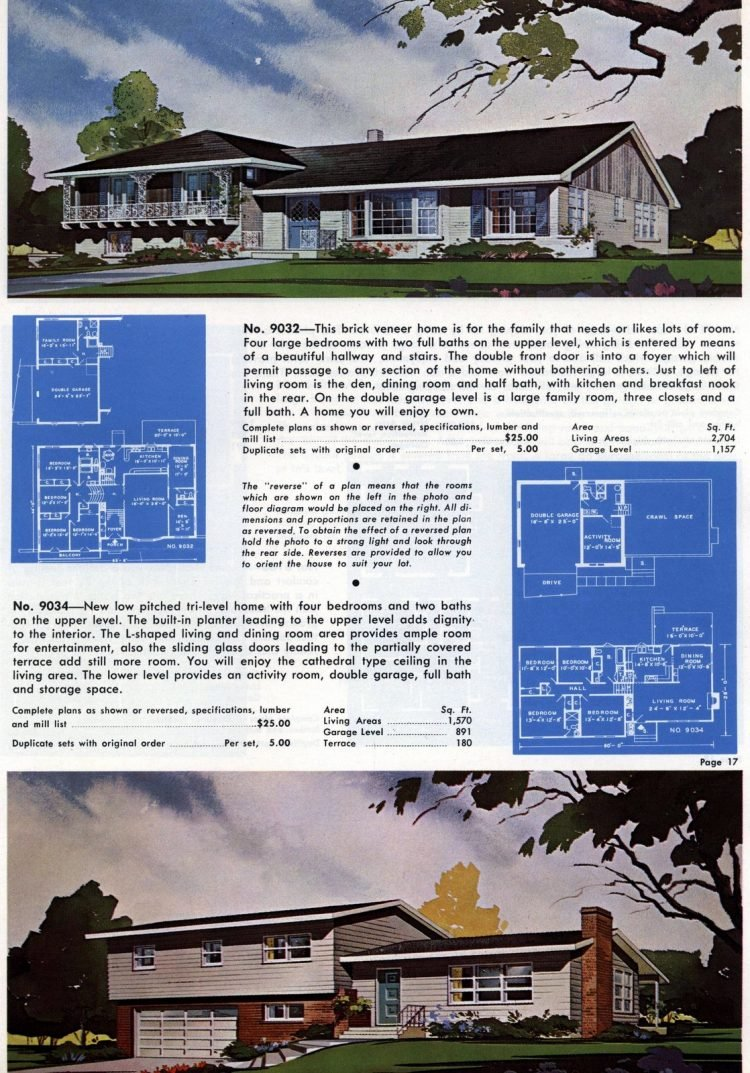 Vintage home plans from 1960 (6)