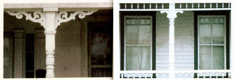 Vintage homes - wood trim ideas for the front porch (5)