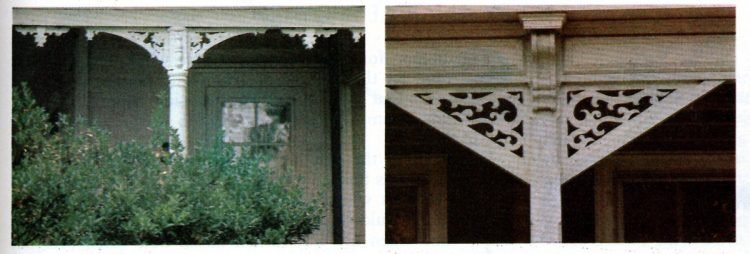 Vintage homes - wood trim ideas for the front porch (7)