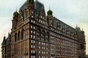 Vintage hotel - Waldorf Astoria, New-York c1909