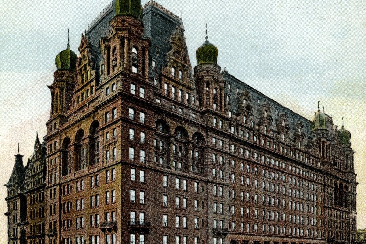 The end of an era: New York's Waldorf-Astoria Hotel torn down (1929) - Click Americana