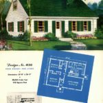 Vintage house plans from 1951 for small suburban homes - at Click Americana (10)