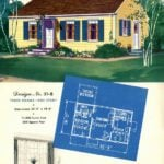 Vintage house plans from 1951 for small suburban homes - at Click Americana (4)