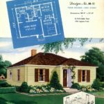 Vintage house plans from 1951 for small suburban homes - at Click Americana (9)