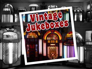 Vintage jukeboxes