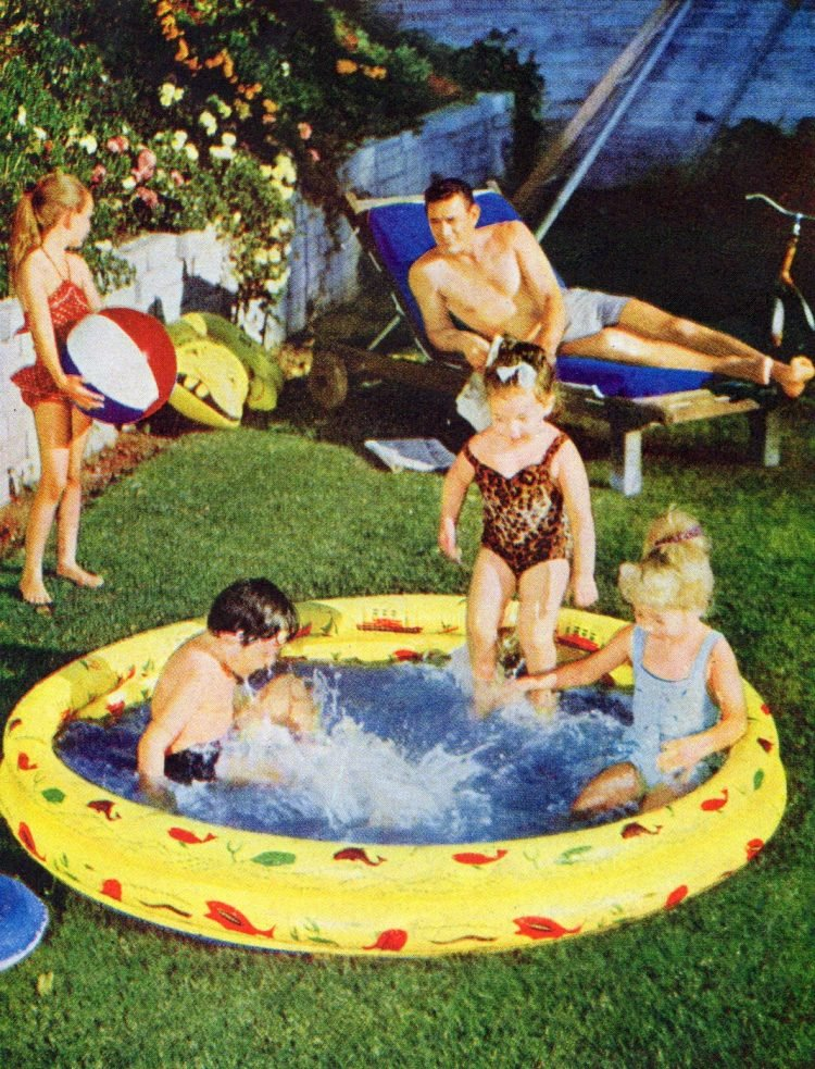Vintage kiddie swimming pools - Inflatables
