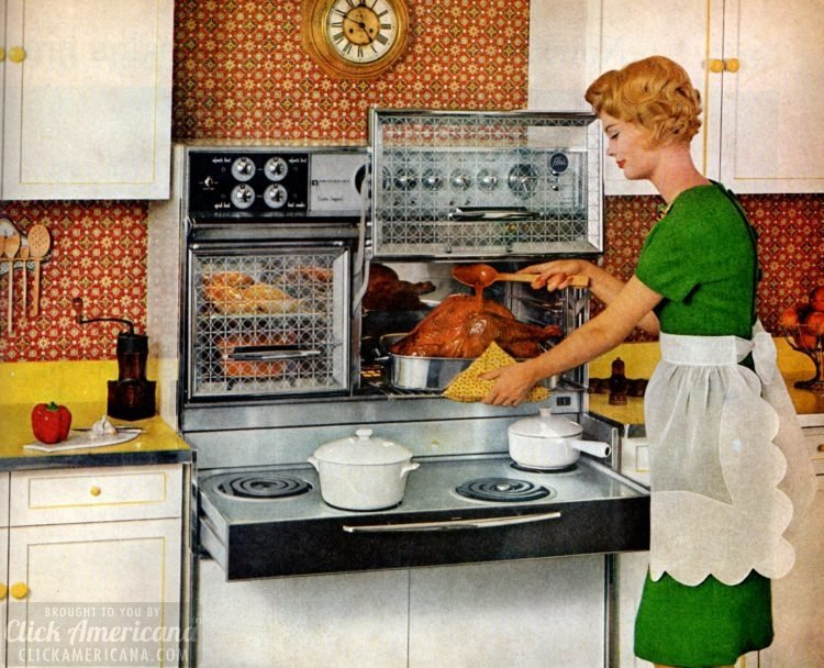 8 vintage sixties kitchens with Flair ranges: Pull-out ...