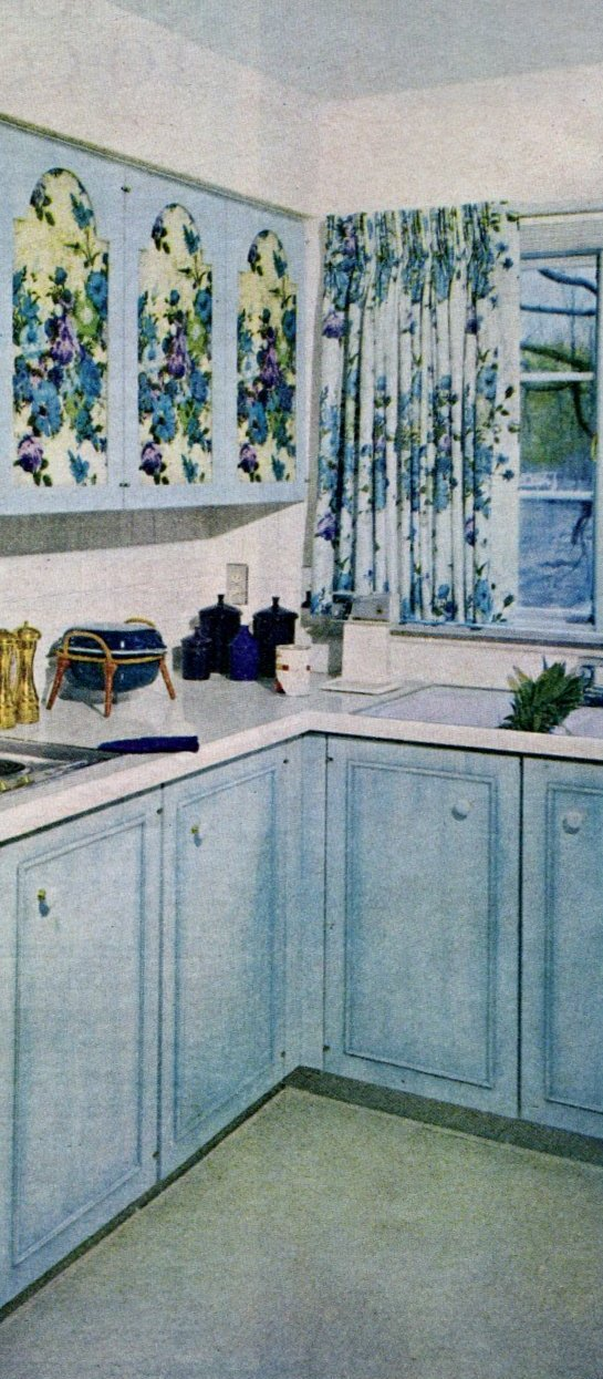 Vintage kitchen cabinet makeovers from the 1960s (2)