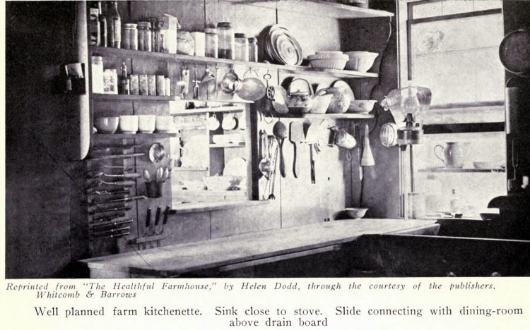 Vintage kitchen from the early 1900s (6)