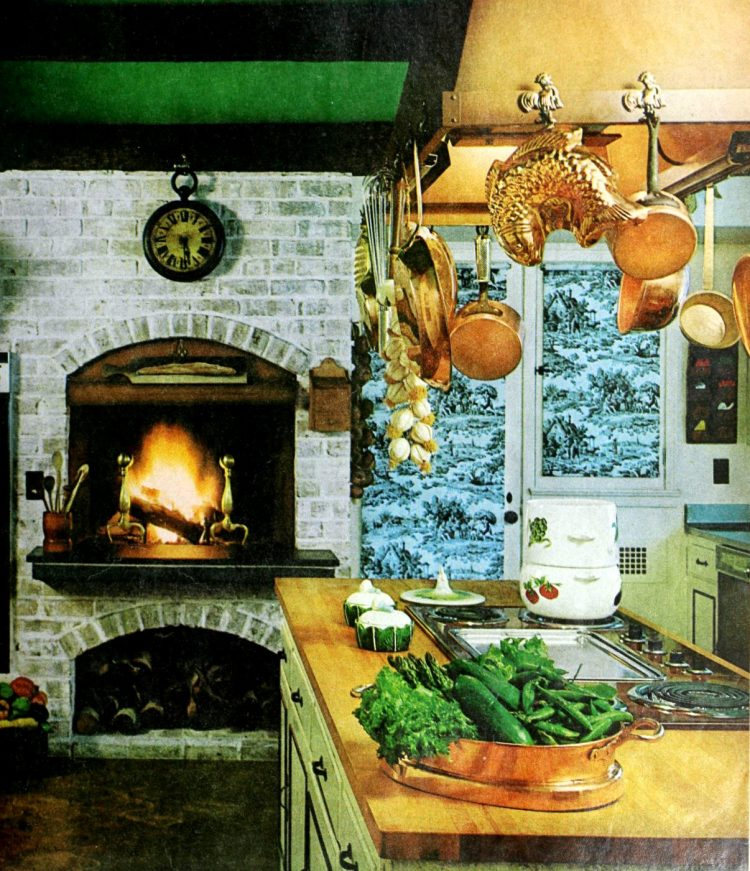 Vintage kitchen islands from the 1960s - home decorating (4)
