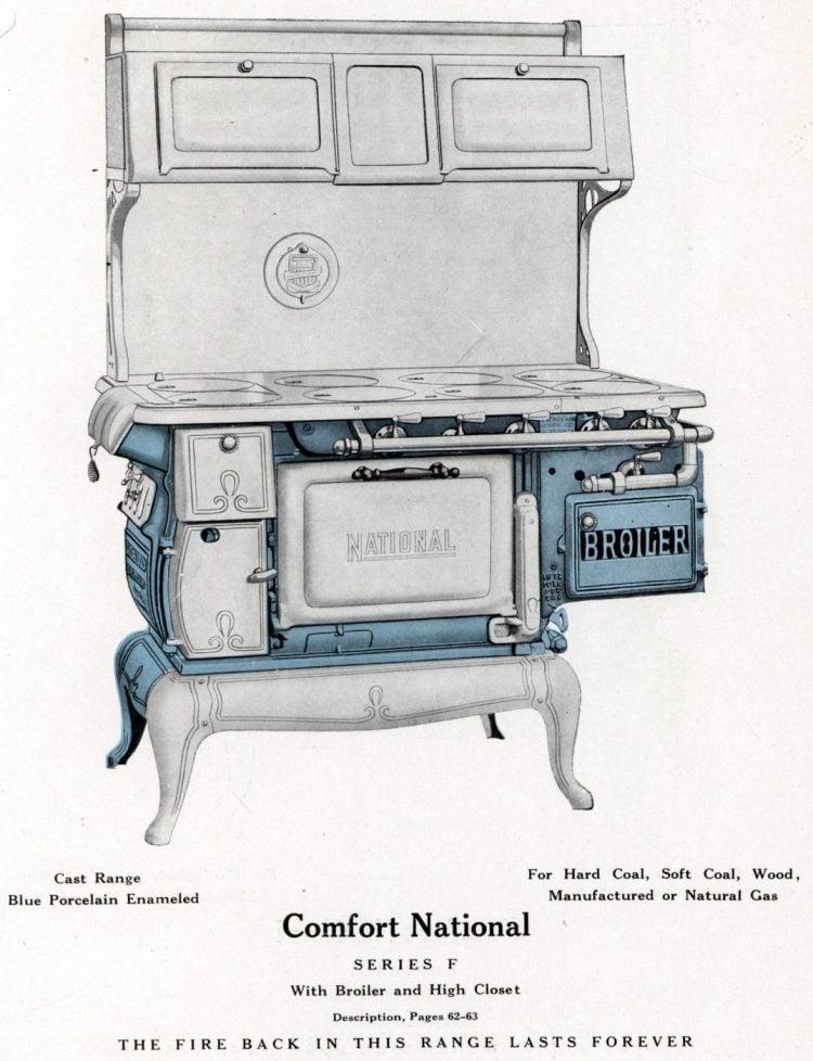 Vintage kitchen stoves from Excelsior - 1931 (1)