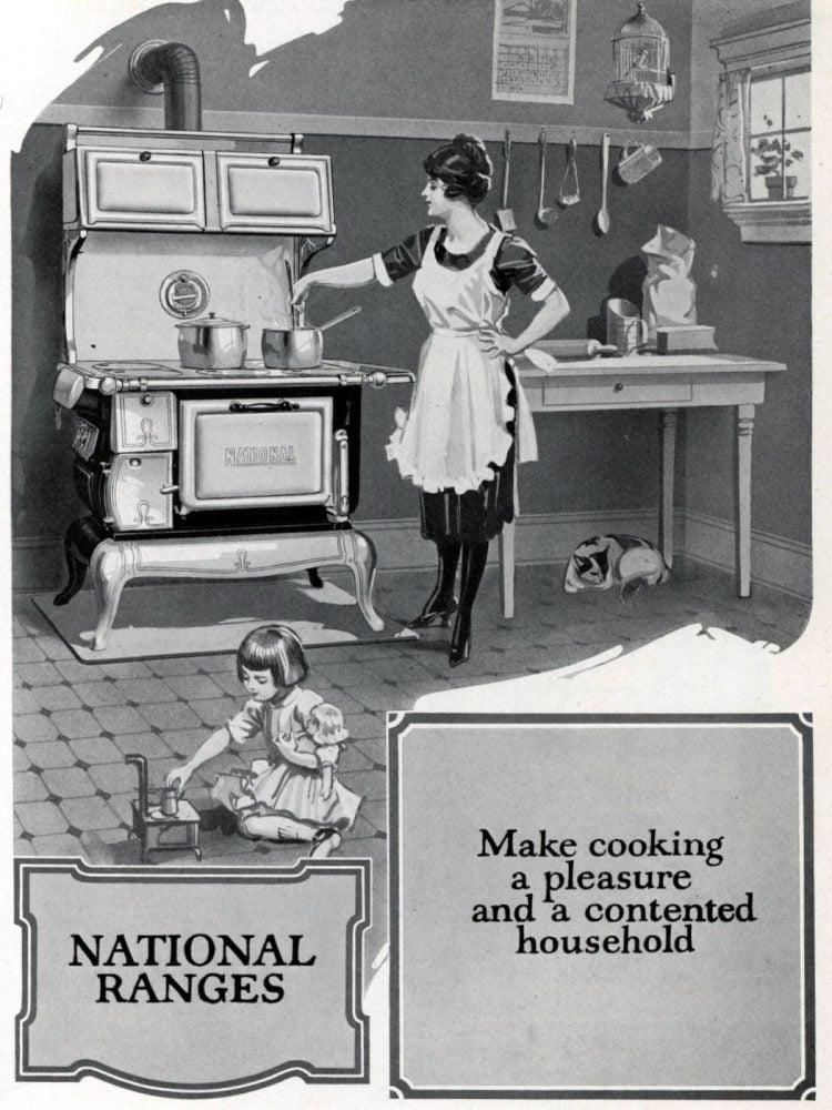 Vintage kitchen stoves from Excelsior - 1931 (2)