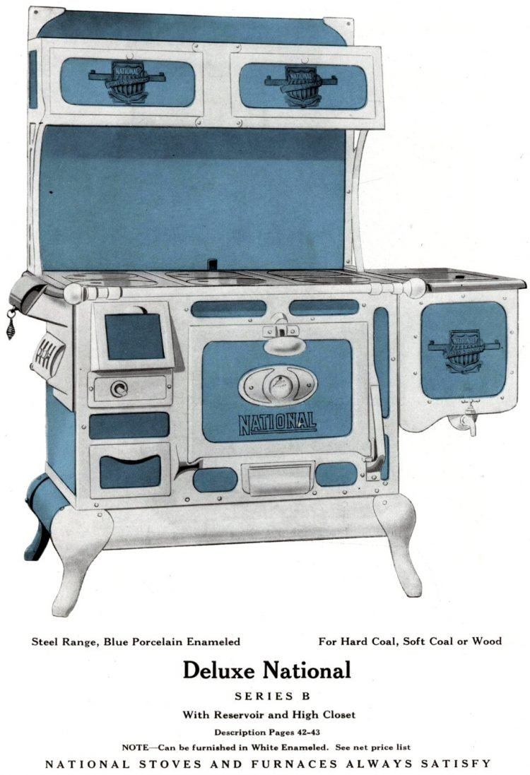 Vintage kitchen stoves from Excelsior - 1931 (3)