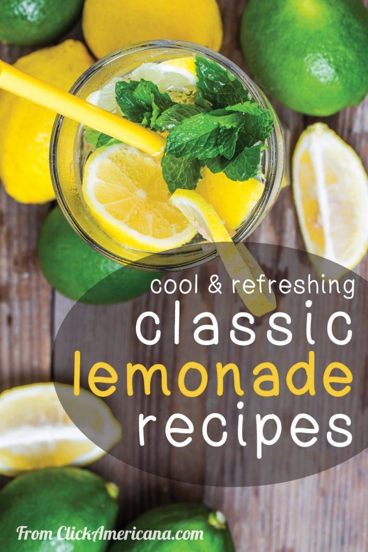 Vintage lemonade recipes