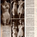 Vintage lingerie - all-in-one body shapers from the 60s